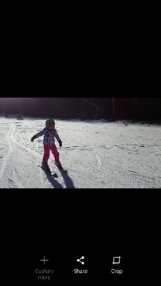 Pats Peak - My kids first solo ski run, it was glorious! Cool little hill, good runs, no lines. - ©Joe