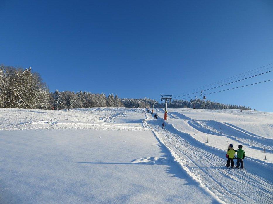 Der Lift im Skigebiet Skilift Bildhaus - ©Skilift Bildhaus