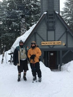 Timberline Lodge - nice..going up this morning should be nice... - ©anonymous