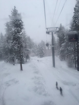 Heavenly Mountain Resort - Beautiful snow - Gondola open!   - ©Nathan's iPhone