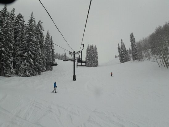 Crested Butte Mountain Resort - Great day of fresh powder, hopefully, with much more snow to come - ©Anon