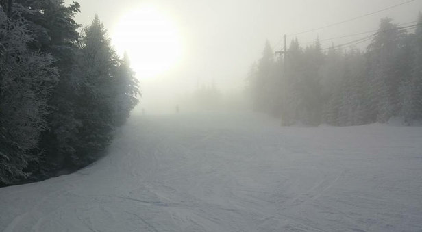 Gore Mountain - Foggy Day at Gore⛷ - ©iPhone