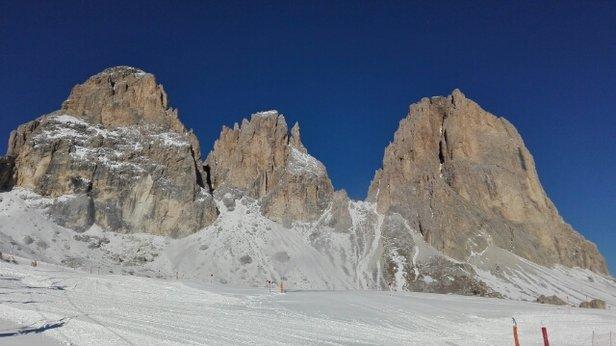 Alta Badia - Corvara - La Villa - S. Cassiano - Piste perfette, ottimo lavoro date le pochissime nevicate! - ©lucabone95
