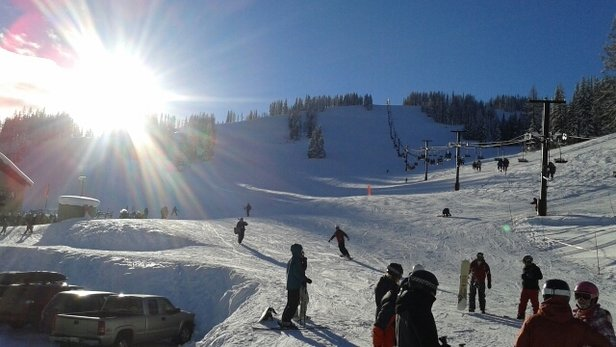 Lookout Pass Ski Area - Amazing day! - ©thewinemd