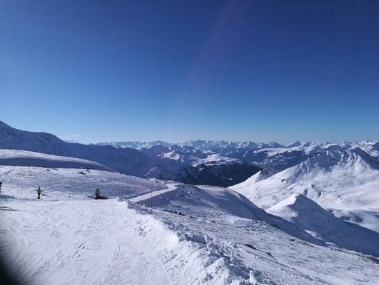 Les Arcs - meteo au top, manteau neigeux moyen, mais grand kif malgré tout. - ©olivier