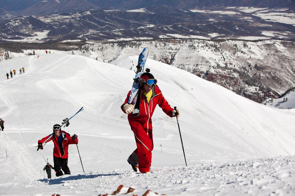 Aspen CO 1stSki+FastestBowlLap