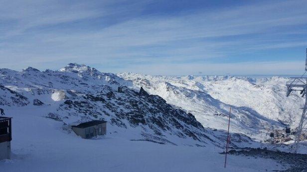 Val Thorens - Super temps. Neige dur ou verglas mais au moins on peu skier contrairement à d'autres stations - ©Vincenttttttttt
