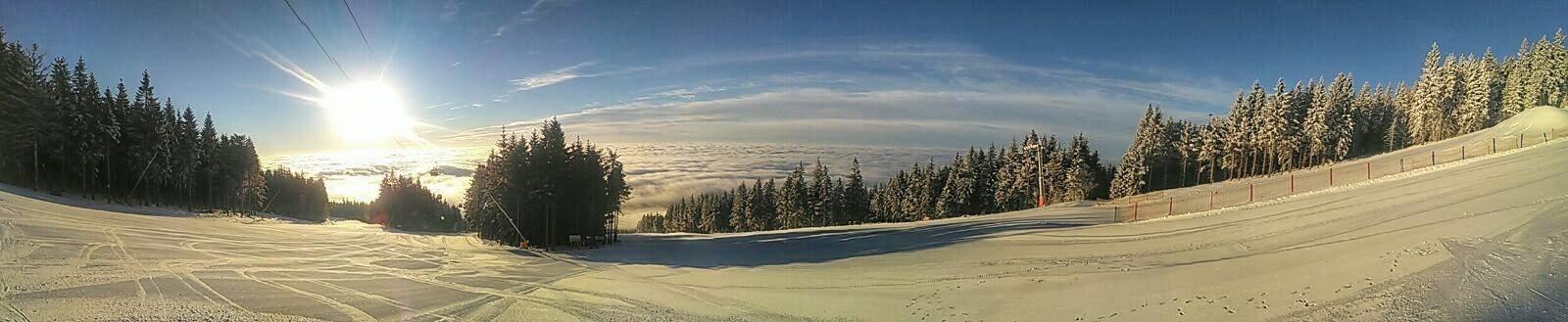 Černá hora - Janské Lázně - panoramatic view - ©facebook SkiResort