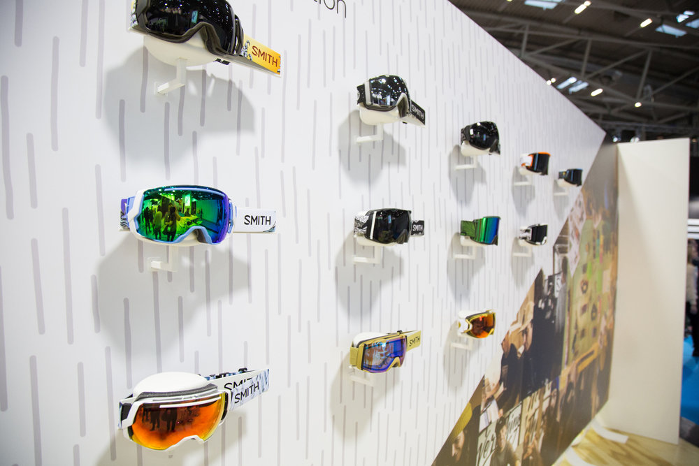 ISPO 2017 : Sur le stand Smith Optics - ©Skiinfo