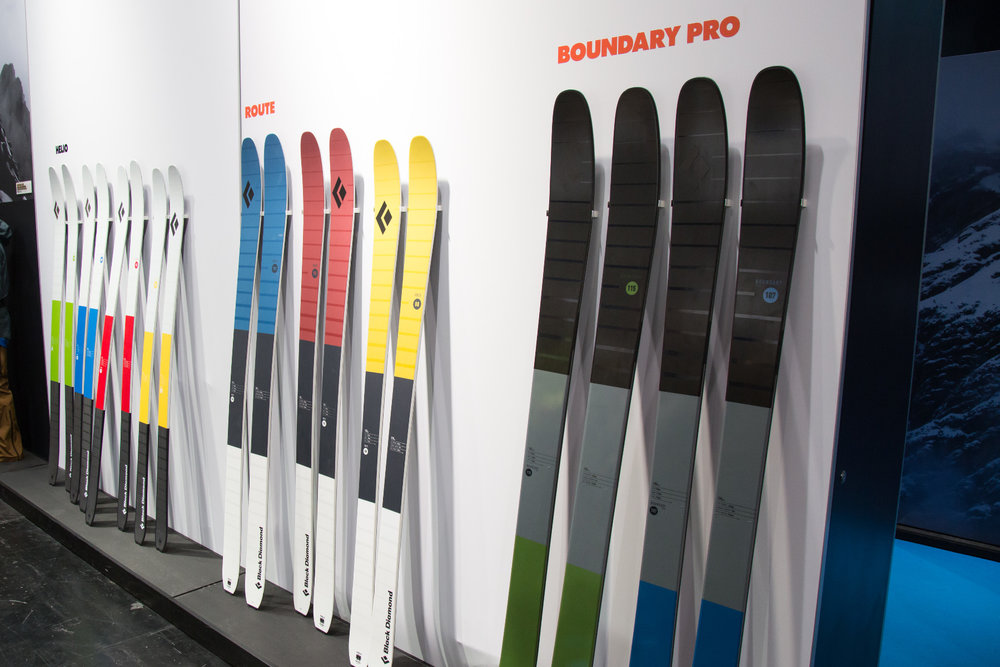ISPO 2017 : Sur le stand Black Diamond - ©Skiinfo