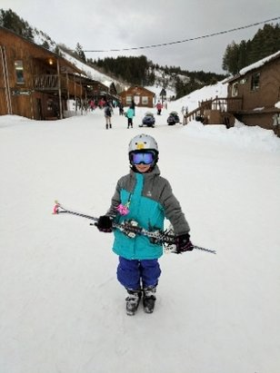 Kelly Canyon Ski Area - Great day to learn the joy of skiing - ©Jim
