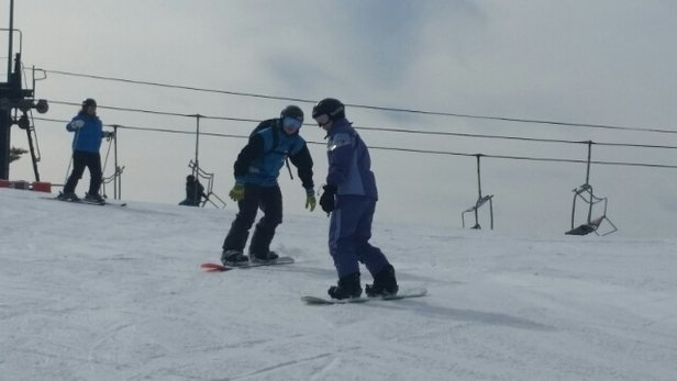 Alpine Valley Resort - Good snow pack. Sun came out. Great day for Illinois skiing :) - ©livetoskik2