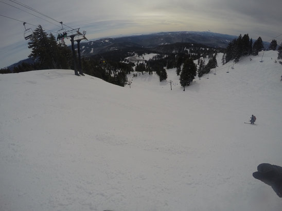 Mt. Hood Meadows - Went on Sunday 2/12 and conditions were okay based on east coast standards.  Take that as you will.  This place has nothing on Stratton or Killington in VT - ©Hi :D