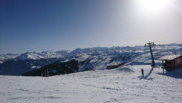 Kitzbühel - Piste conditions excellent despite high temperatures and lack of fresh snow - ©Stodge