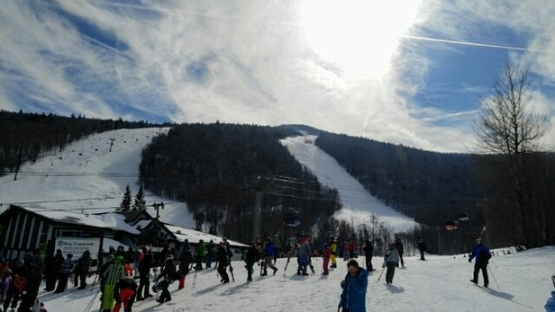 Killington Resort - Great day on the hill! A little warm up does no wrong- unless you're stuck going slow.  - ©anonymous