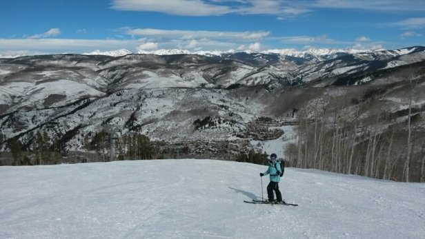 Beaver Creek - Great conditions. Sunny and warm. No crowds! - ©nickwilliam10