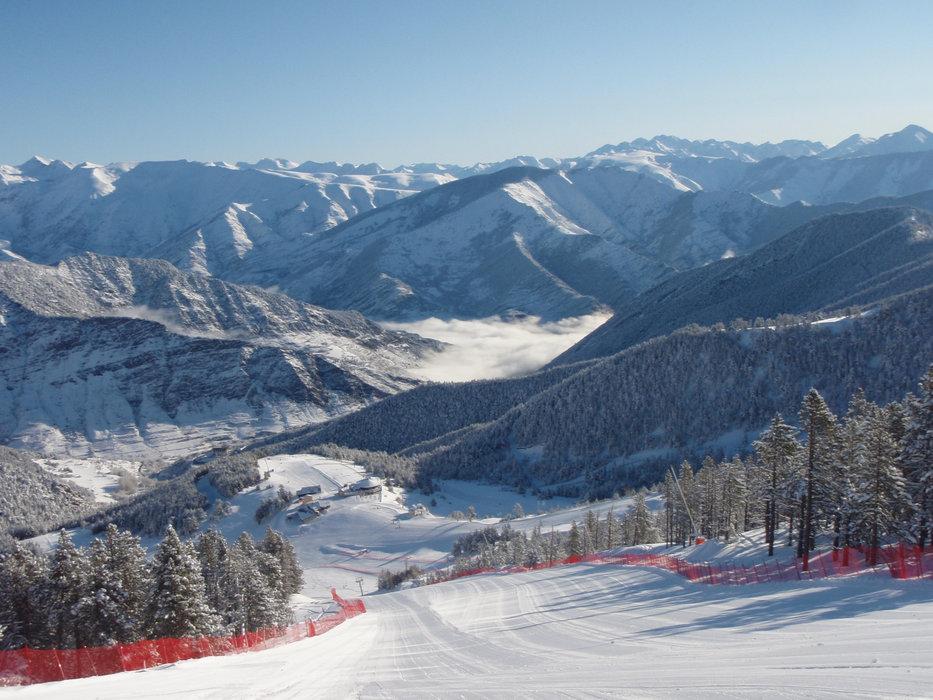 Vue depuis les pistes de ski de Espot Esquí - ©Station de ski de Espot Esquí