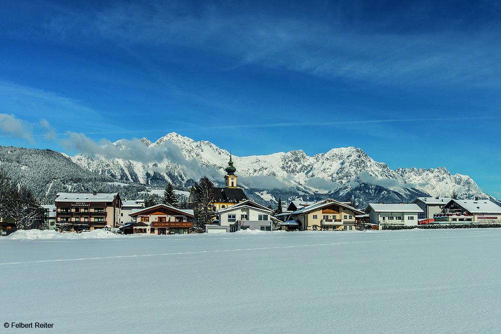 Verschneites Söll am Wilden Kaiser - ©Felbert Reiter