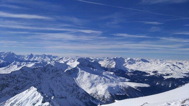 Davos Klosters - Oben guter Schnee, unten Sulz    - ©Anonym