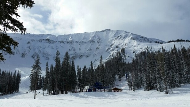 Big Sky Resort - yesterday was cold but snow conditions held up well. - ©amy
