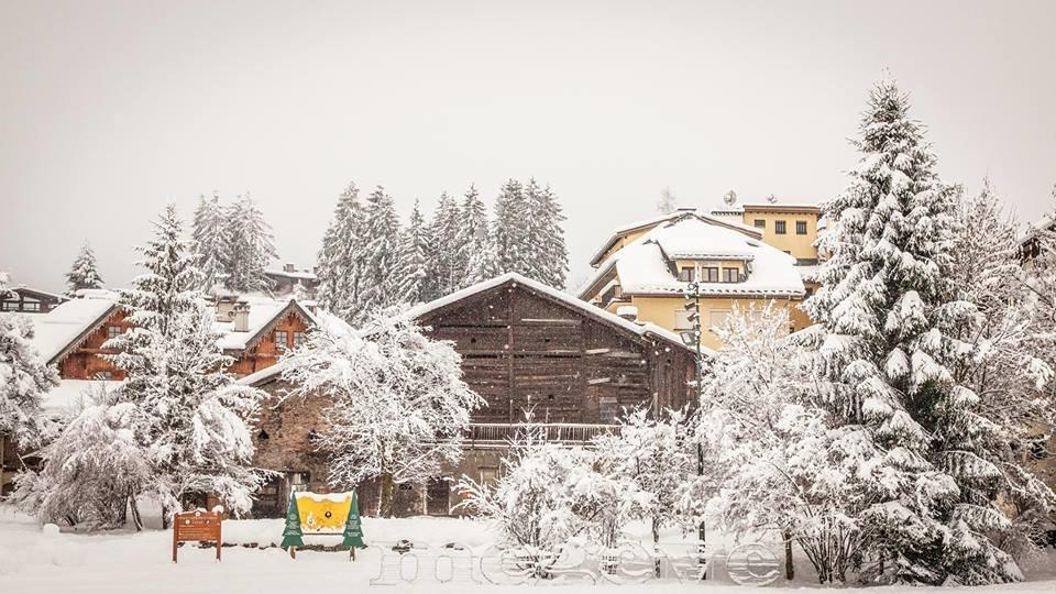 Retour de l'hiver à Megève (1er mars 2017) - ©Megeve