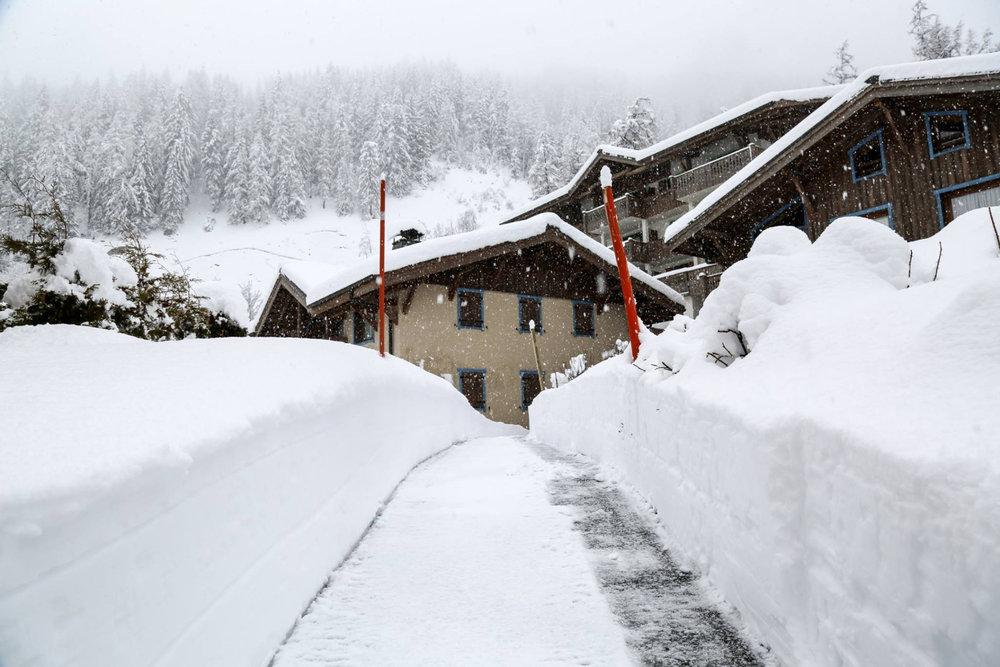 2 mars 2017 à Chamonix - ©Chamonix