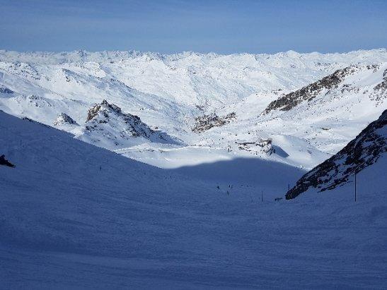 Val Thorens - vue au depart de Glacier - ©cyril
