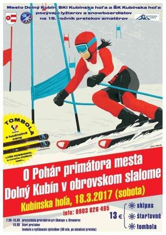 15. ročník pretekov amatérov o Pohár primátora mesta Dolný Kubín - ©SKI PARK Kubínska hoľa
