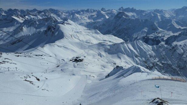 Oberstdorf - Nebelhorn - Super Sicht.  Nicht viel los.   - ©Martina