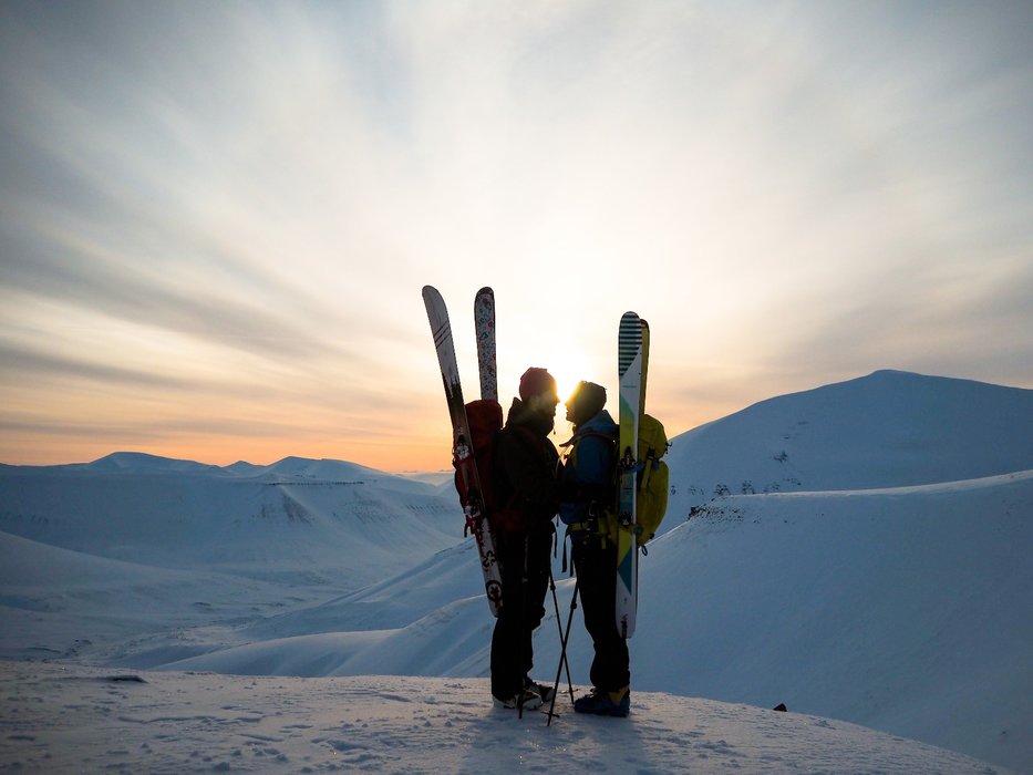 Trolsk stemning: Trollsteinen er en topptur som er lett tilgjengelig fra Longyearbyen. - ©Vigdis Skogly
