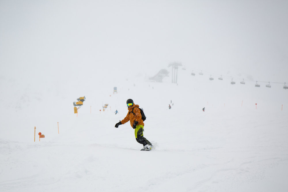 Abfahrt vom Plansegg (2378 Meter) - ©Skiinfo