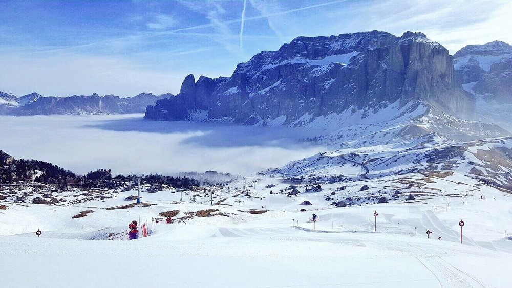 Dolomiti Superski, Passo Sella - Marzo 2017 - ©Dolomiti Superski Facebook