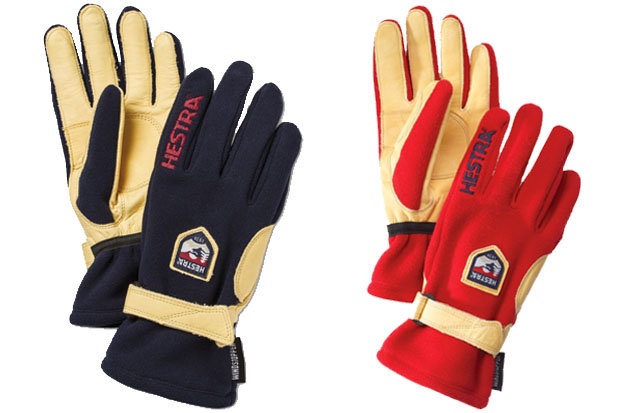 Hestra Windstopper Active gloves: $75 Sweaty digits can be an unwelcome distraction when the longer days of spring take hold. Hestra's Windstopper Active gloves use an Ecocuir leather palm and windproof, water repellent/breathable Gore Windstopper Glacier fleece to protect you from the elements.