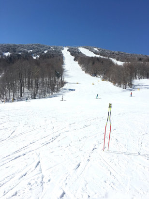 Stratton Mountain - Today (Sunday) following a one-foot dump on Fri/Sat... - ©Dino's iPad