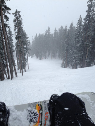 Ski Santa Fe - ThunderRoad. Total powder.  - ©Thomas