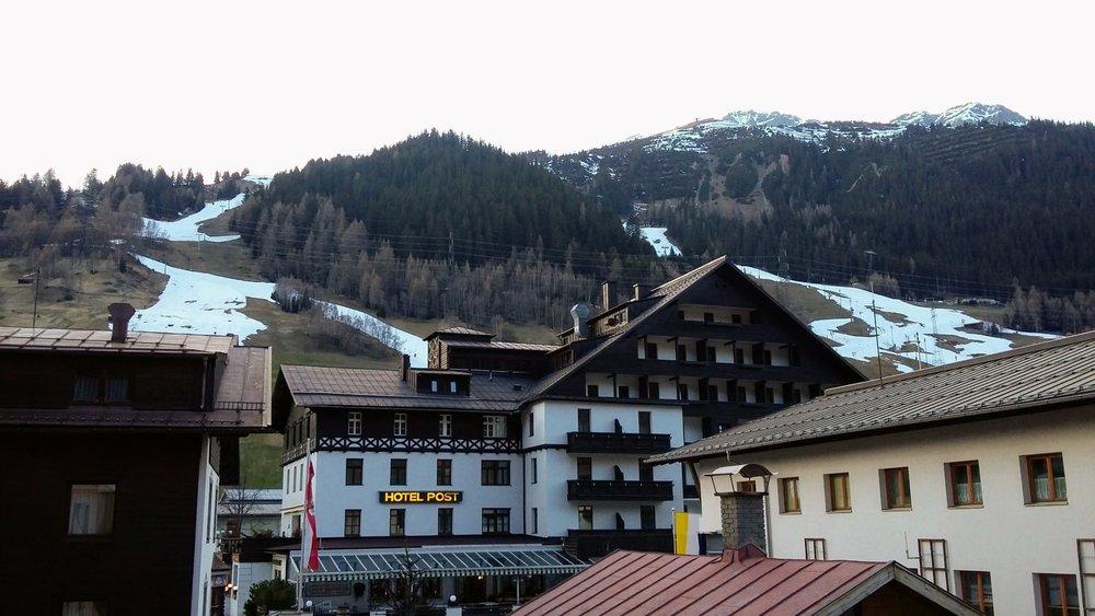 Výhľad z nového hotela Andino v St. Anton am Arlberg - ©Tomasz Wojciechowski / Skiinfo