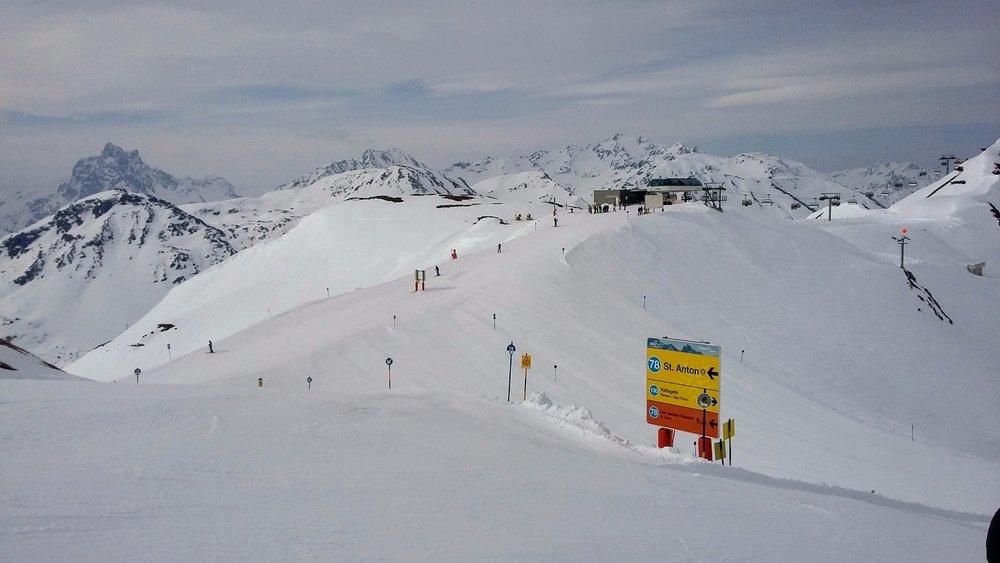 Jarní lyžování v St. Anton am Arlberg - apríl 2017 - ©Tomasz Wojciechowski / Skiinfo