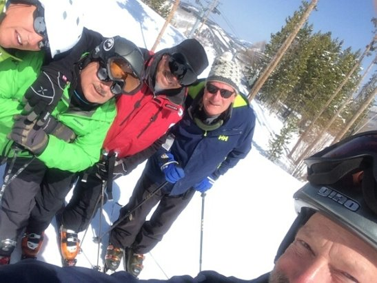 Vail - As good as it gets for spring skiing. More like powder and packed powder. - ©lbikat11