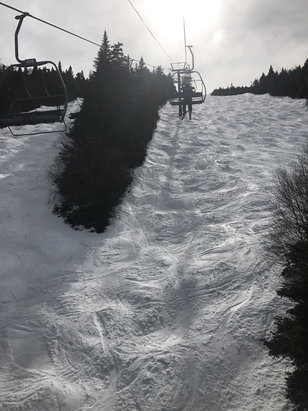 Sugarbush - Awesome spring conditions! - ©Jeffrey's phone