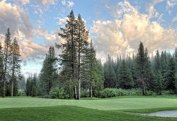 Best Greens in the Tahoe Region. - ©Derek Moore Tahoe Donner Association Ph: 530-587-9641 dmoore@tahoedonner.com