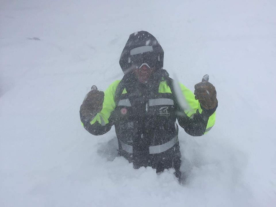 Auch reichlich Neuschnee gab es in Whakapapa - ©Facebook Whakapapa