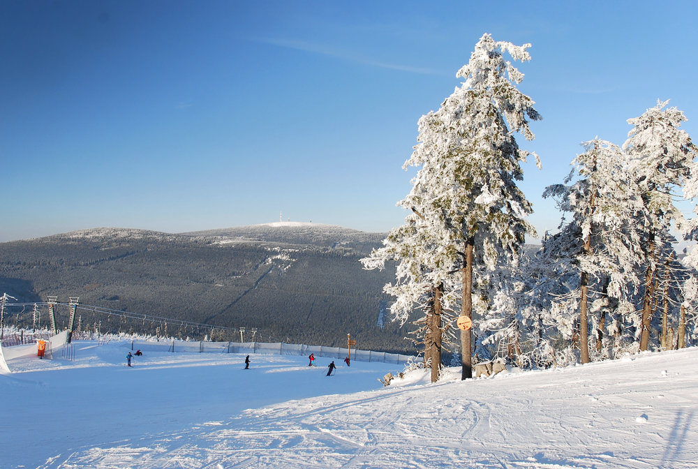 Ski-Abfahrt in Braunlage Wurmberg - ©© Wurmbergseilbahn Braunlage