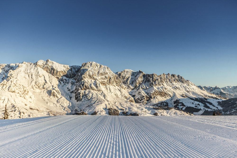 Ausblick im Skigebiet Hochkönig - ©Hochkönig Tourismus GmbH