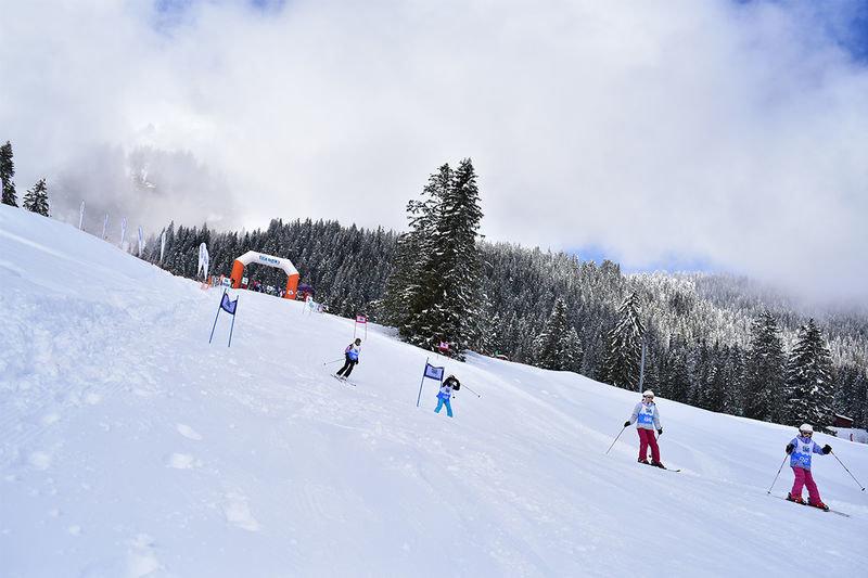 Pistenspaß im Skigebiet Braunwald