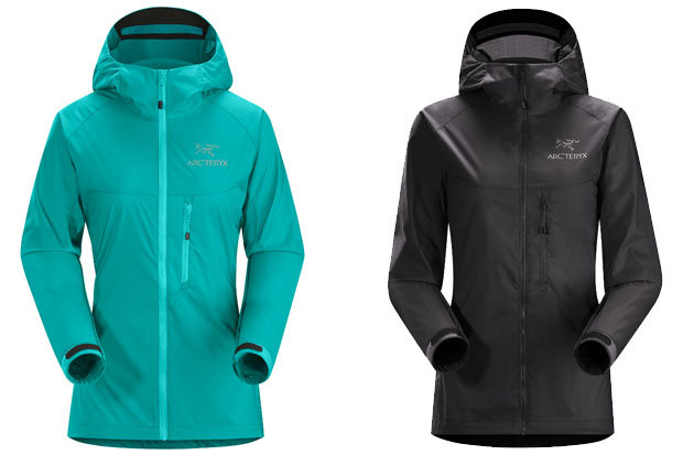 Arc'teryx Women's Squamish Hoody: $159 The Squamish is a lightweight, compressible layer that protects against the wind during warm weather adventures. The mini-Ripstop textile material and air permeable PU coating are a perfect blend of ruggedness and breathability.