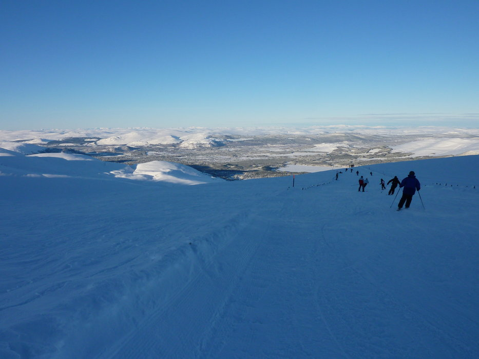 Skiing at Cairngorm, Scotland