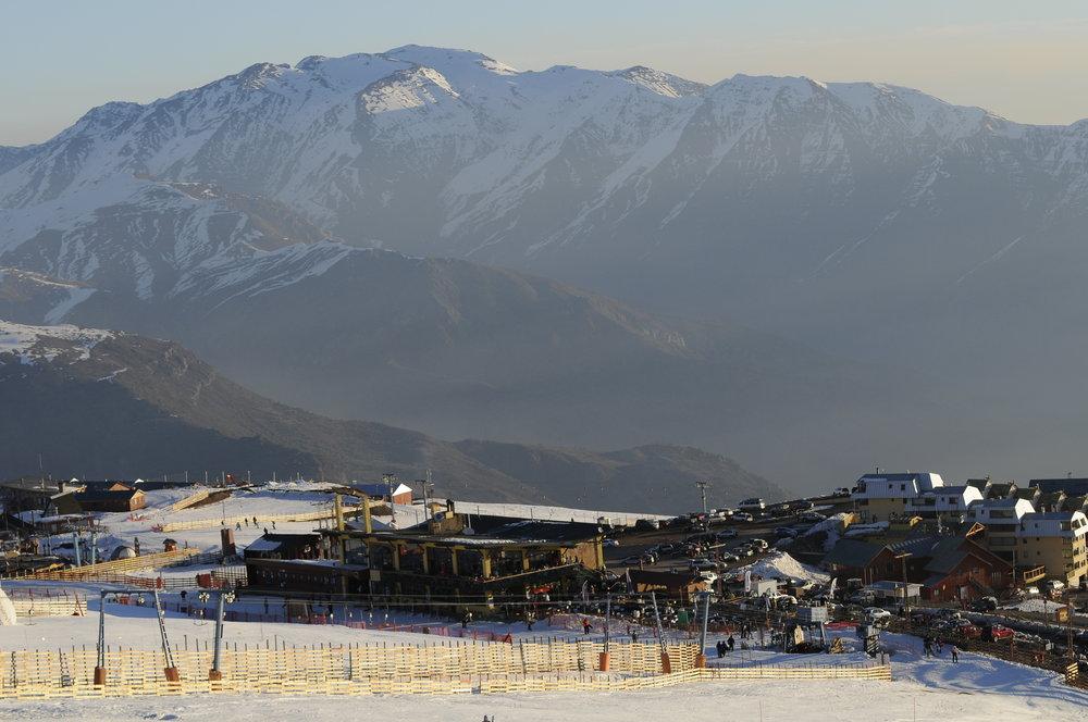 Base area of El Colorado, Chile. Copyright: El Colorado Tourism