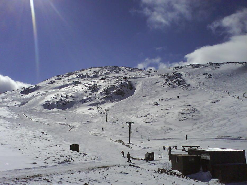 Lifts and slopes at Glencoe,Scotland (Glencoe Mountain Ltd)