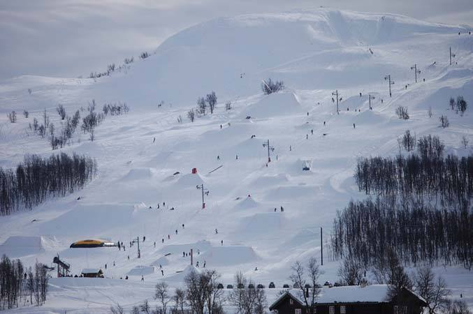 Rauland Vierli snow park