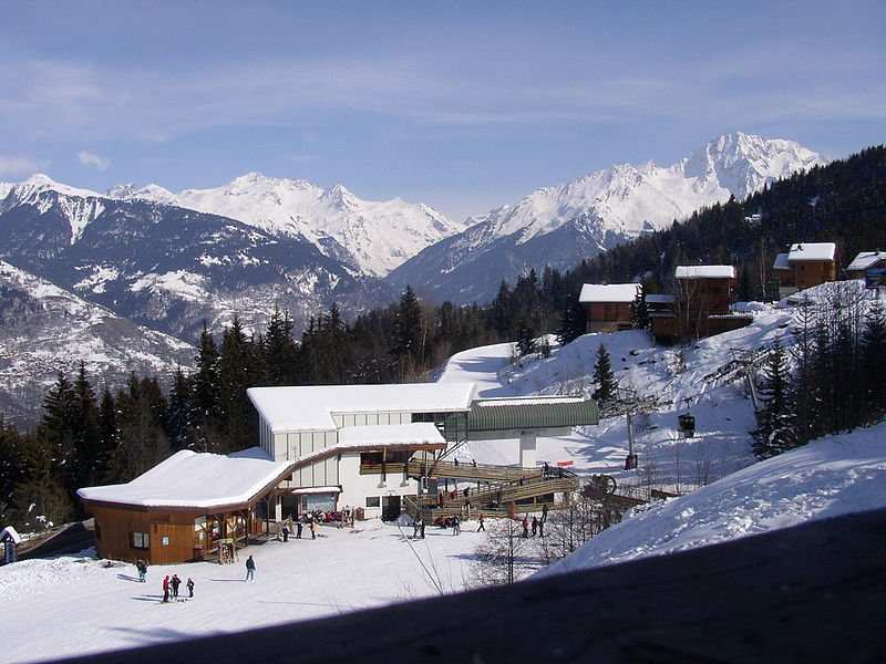 Lodge and Station at La Tania, France